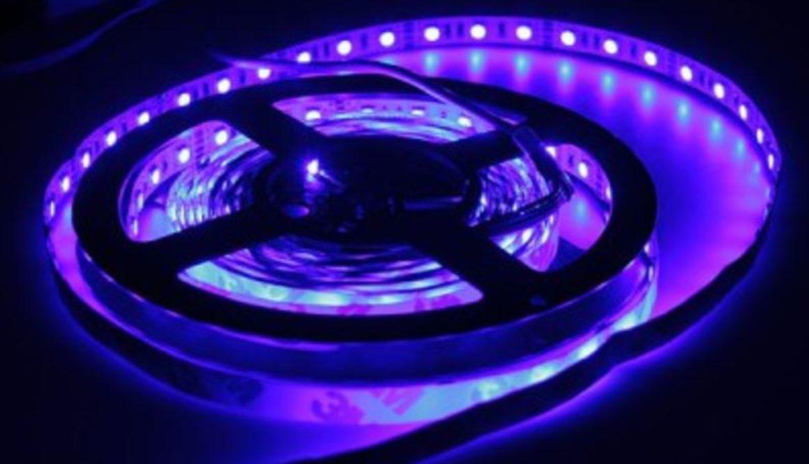 RGB Flexible LED Strip 5050 (5 meters) 16.5ft    Waterproof..........         (1 spool only)