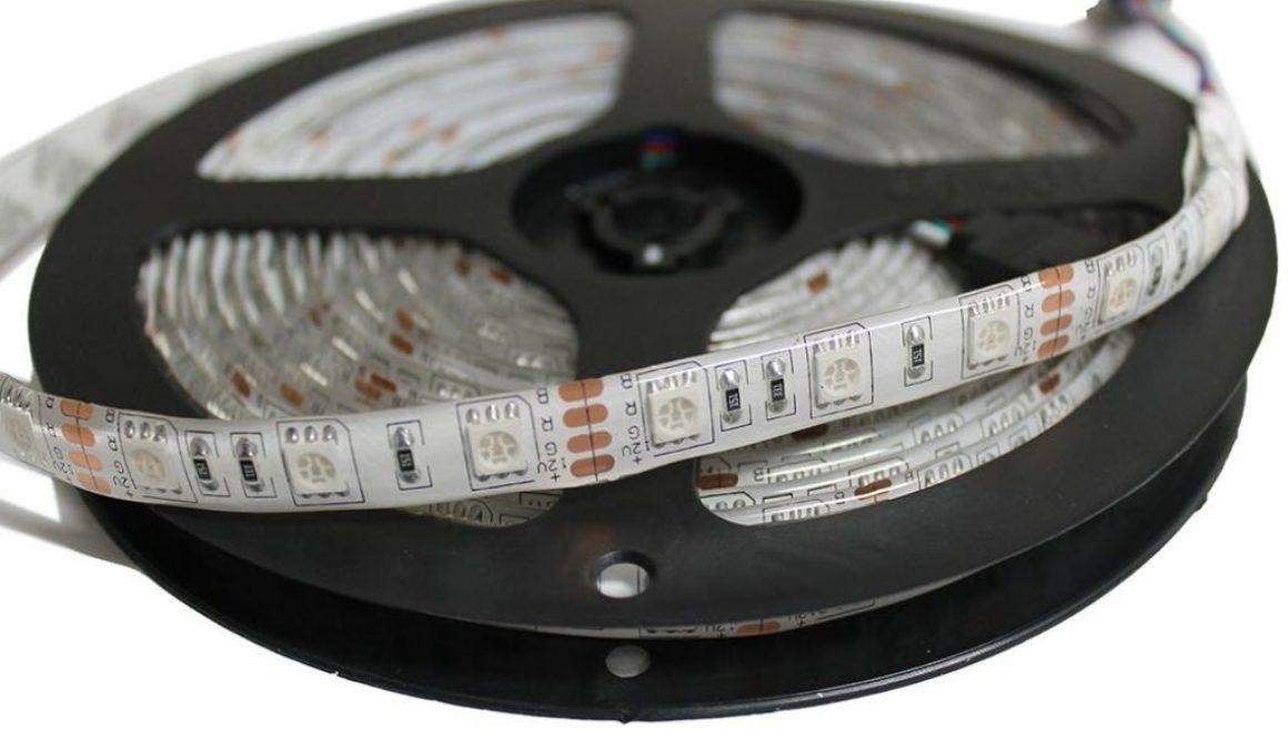 RGB LED Strip - 5 Meters - Waterproof - 12v